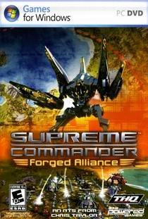 Supreme Commander Forged Alliance скачать торрент